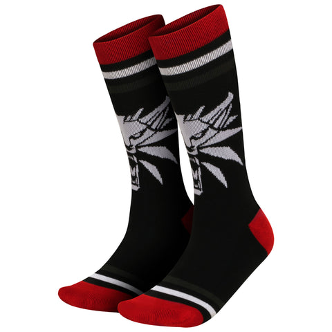 View 1 of The Witcher 3 White Wolf Socks photo.