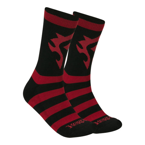 View 1 of World of Warcraft Horde Core Socks photo.