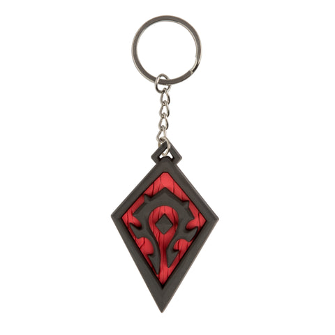 View 1 of World of Warcraft Horde Pride Keychain photo.