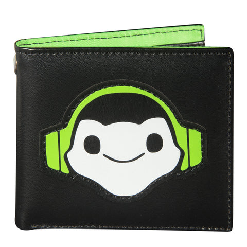 View 1 of Overwatch Lucio Bi-fold Graphic Wallet photo.