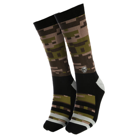 View 1 of J!NX Camo Socks photo.