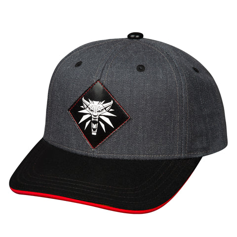 View 1 of The Witcher 3 Monster Slayer Snap Back Hat photo.