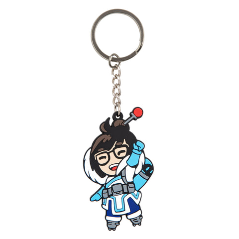 View 1 of Overwatch Mei Flat Keychain photo.