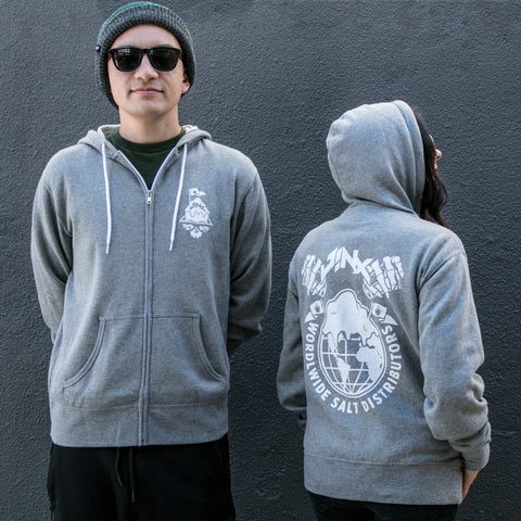 View 1 of J!NX Worldwide Zip-up Hoodie photo.