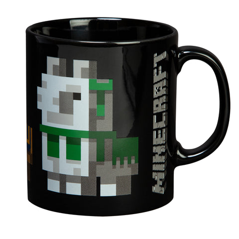 View 1 of Minecraft Llama Conga Line Ceramic Mug photo.