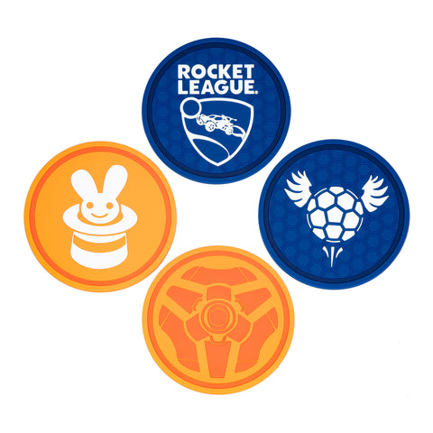 View 1 of Rocket League Coaster (4 Pack) photo.