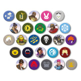View 1 of Overwatch Button Blind Pack CDU, Series 1 (40 Piece Assortment) photo.