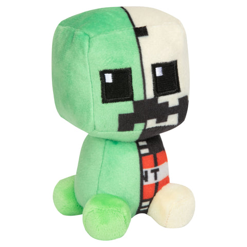 View 1 of Minecraft Mini Crafter Creeper Anatomy Plush photo.