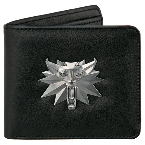 View 1 of The Witcher 3 White Wolf Bi-Fold Wallet photo.
