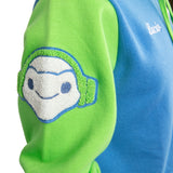 View 6 of Overwatch Varsity Lucio Zip-Up Hoodie photo.
