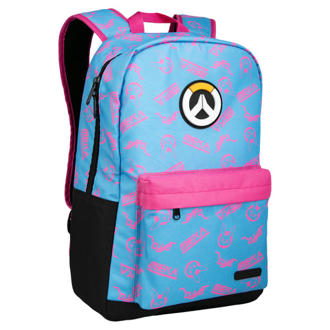 View 1 of Overwatch D.Va Splash Backpack photo.