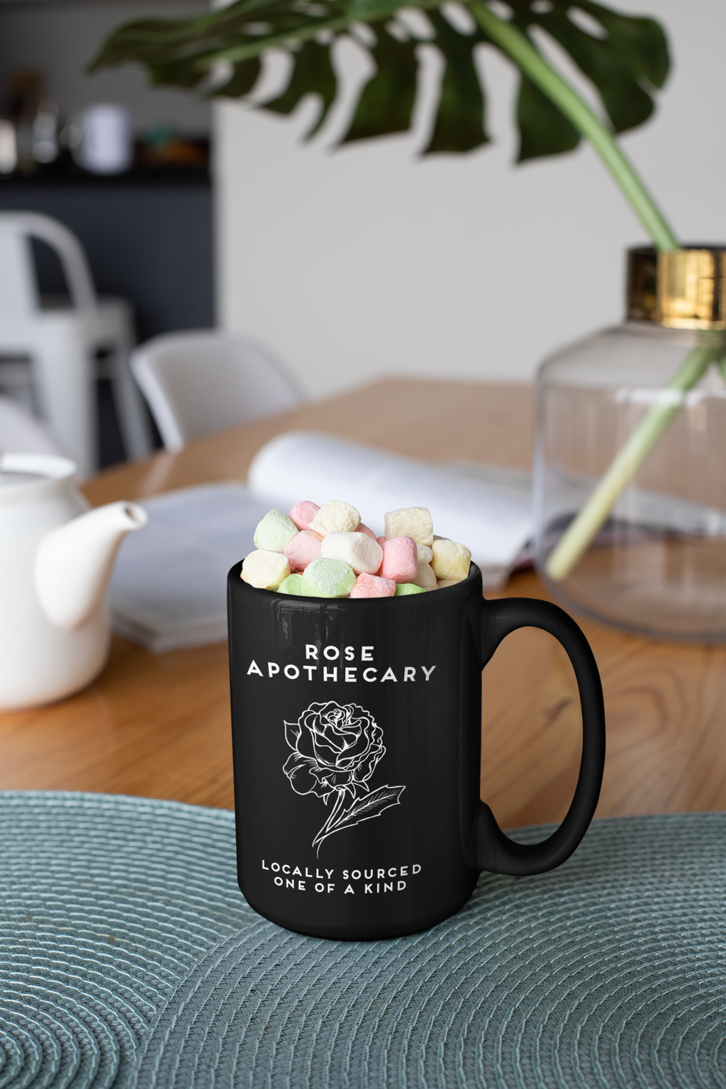 Rose Apothecary 15 oz Coffee Mug