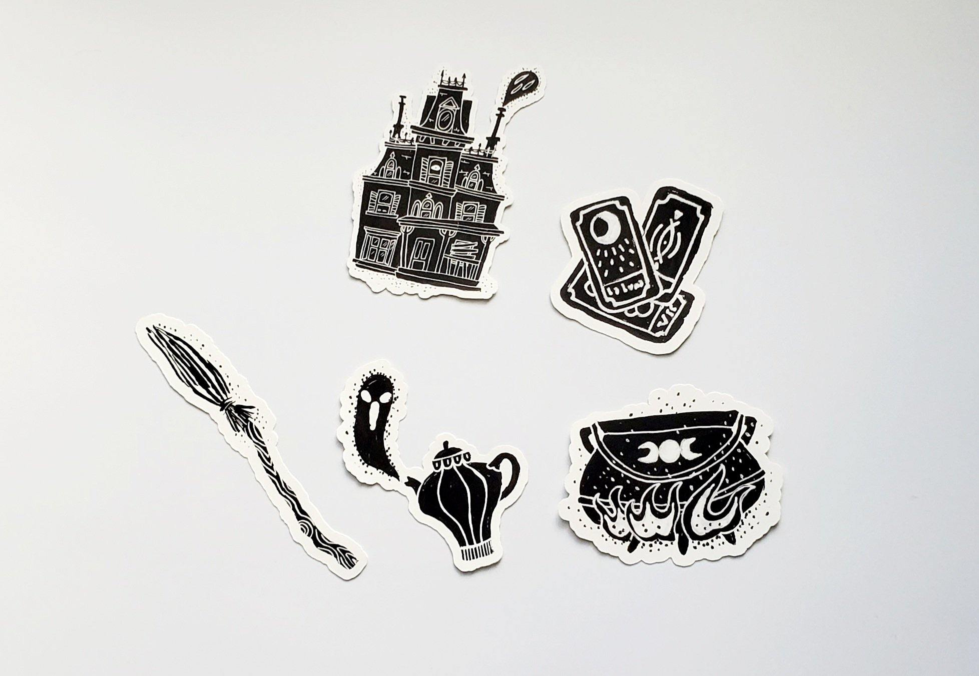 Wicked Witches Vinyl Sticker Pack