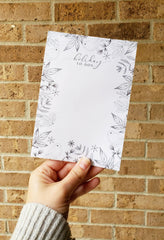 Holiday To-dos Notepad