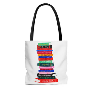 Never Too Many Books Tote Bag