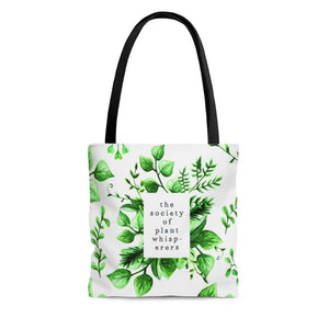 The Society of Plant Whisperers Tote Bag
