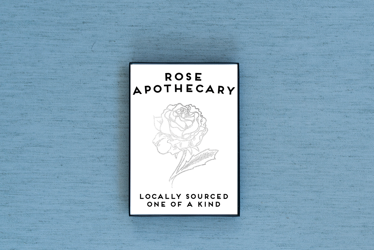 Rose Apothecary Foiled & Framed Print
