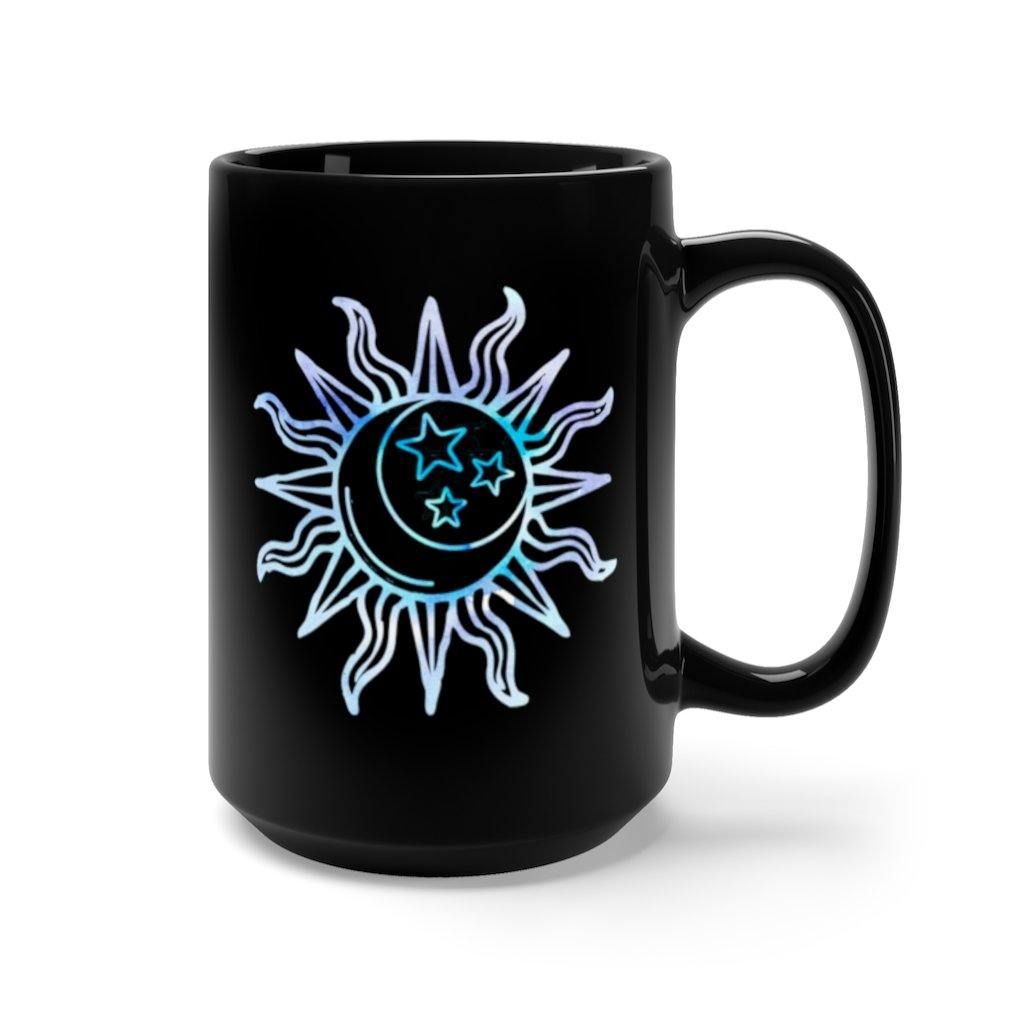 Live by the Sun, Love by the Moon Watercolor Mug
