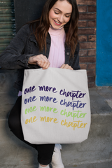 One More Chapter Tote Bag - Lucky Dog Design Co.