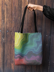 Trippy Little Tote Bag - Lucky Dog Design Co.