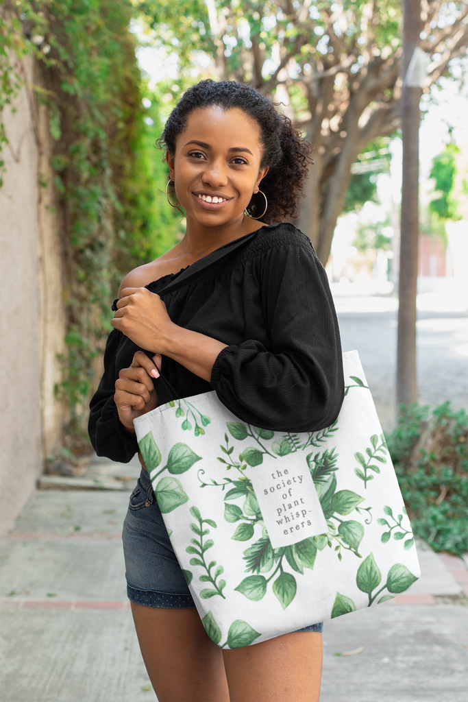 The Society of Plant Whisperers Tote Bag - Lucky Dog Design Co.