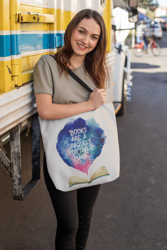 Book Lovers Tote Bag - Lucky Dog Design Co.