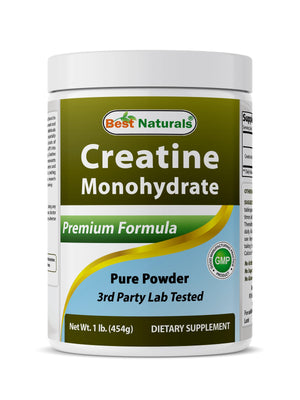 Best Naturals Creatine Monohydrate 1 Lb Powder