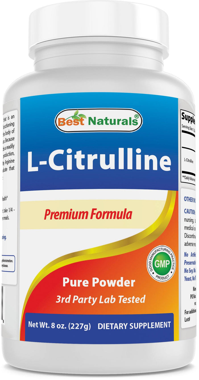 Best Naturals L-Citrulline Powder 8 OZ