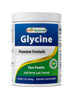 Best Naturals Glycine Powder 1 LB