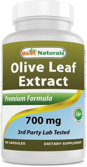 Best Naturals Olive Leaf Extract 700 mg 90 Capsules