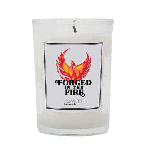 Forged in the Fire Candle