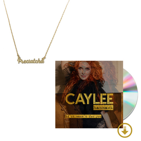 Preciatcha Necklace + Signed CD + Digital Album