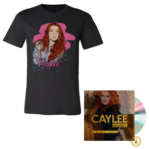 Redhead T-Shirt + Signed CD + Digital Album