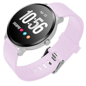 V11 Round Heart Rate Monitor Smart Watch for Sport Tracking