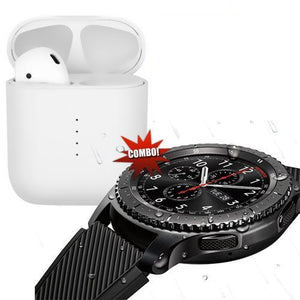 G4 Smart Watch With Camera with HBQi10s Wireless Ear-pod