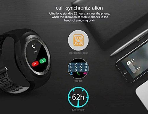 Y1 Bluetooth Smart Watch with HBS 730 Stereo Headset