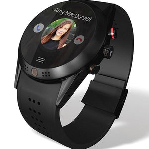Android 4G- Smartwatch with 360 Rotating HD Camera