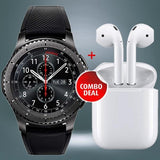 Frontier Smartwatch With HBQi7s Wireless ear-pods