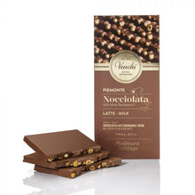 Load image into Gallery viewer, venchi-chocolate-Large-Milk-Chocolate-Bar-With-Hazelnuts (4465853431940)