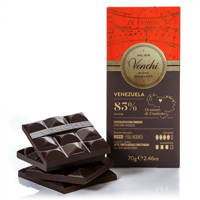 venchi-chocolate-Venezuela-85-Dark-Chocolate-Bar