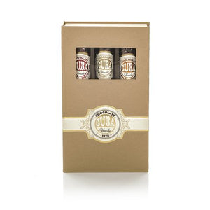 venchi Assorted Chocolate Cigar Gift Box: three Cigars.