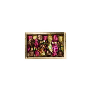Venchi Assorted Chocolate Truffles in a Gold Gift Box