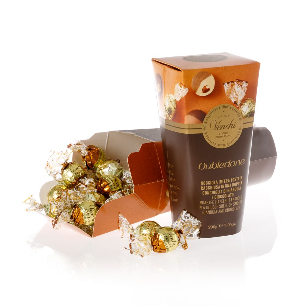 Dubledone Hazelnut Chocolate Gift Box 7.05 oz (4465858412676)