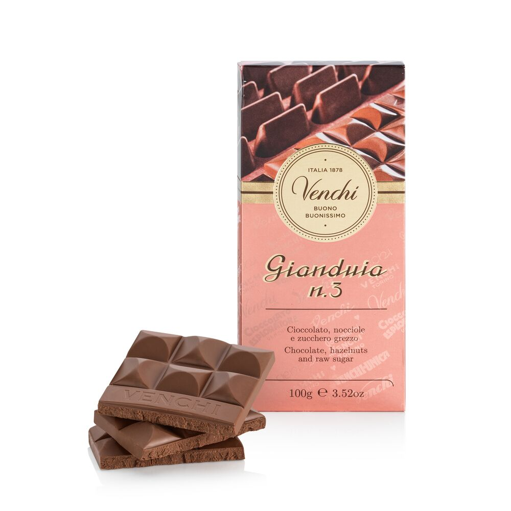 Gianduia Hazelnuts Chcocolate Bar 3.52oz