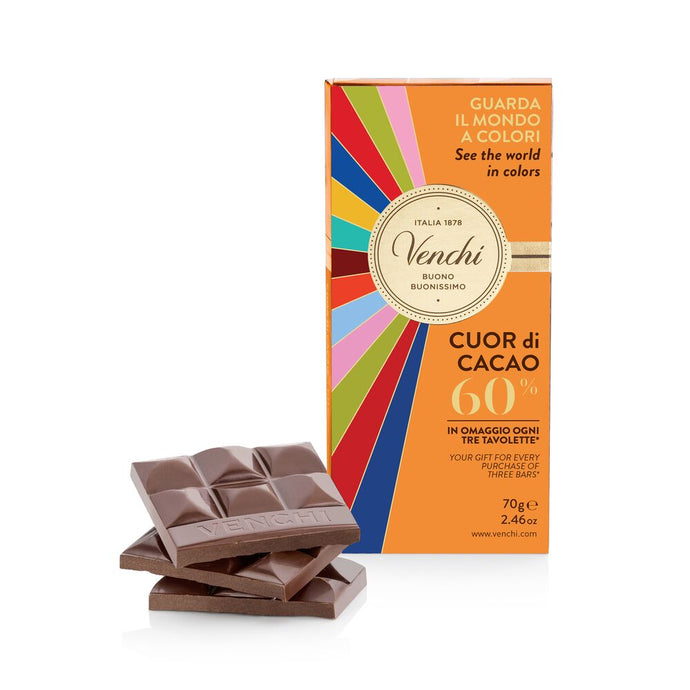 Dark Chocolate Bar 60% 2.46oz