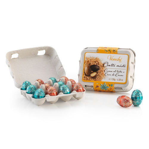 venchi assorted chocolate mini eggs