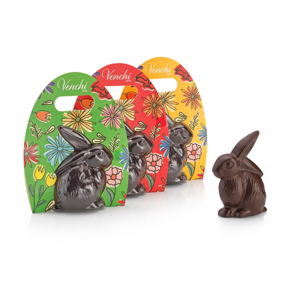 Dark Chocolate Easter Bunny 3.52oz (4667095154820)