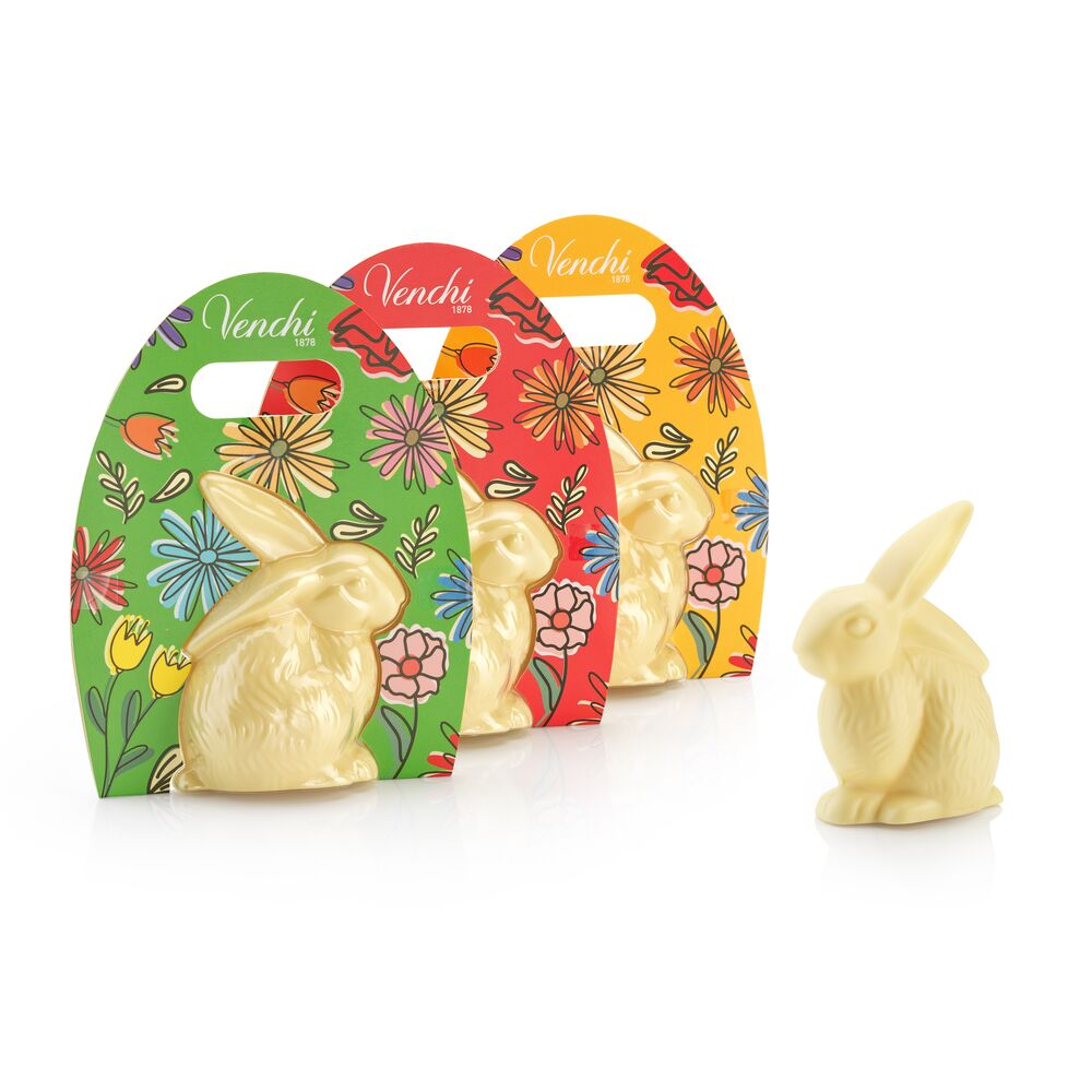 White Chocolate Easter Bunny 3.52oz