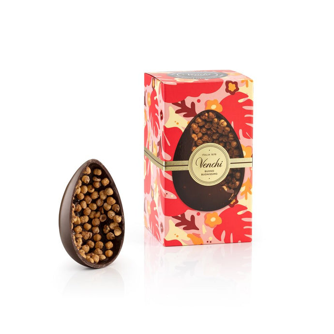 Dark Chocolate Gourmet Egg with Hazelnuts Vegan and Gluten-free 19oz (4906714726532)