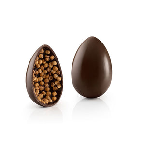 Dark Chocolate Gourmet Egg with Hazelnuts Vegan and Gluten-free 19oz
